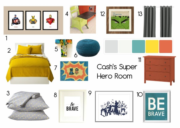 OB-Cash's Super Hero Room